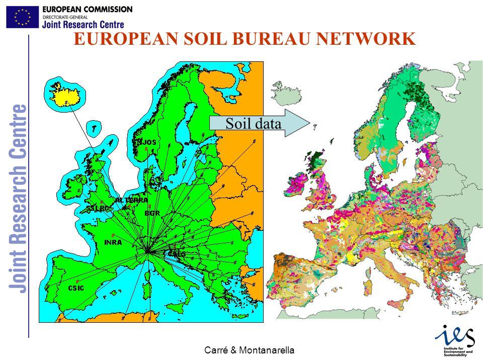 JRC Ispra - IES Carré & Montanarella Soil attribute map