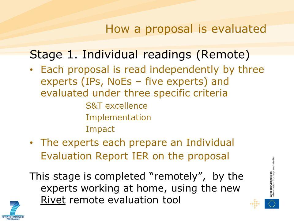 ICT evaluation Writing a good Consensus Report / ESR