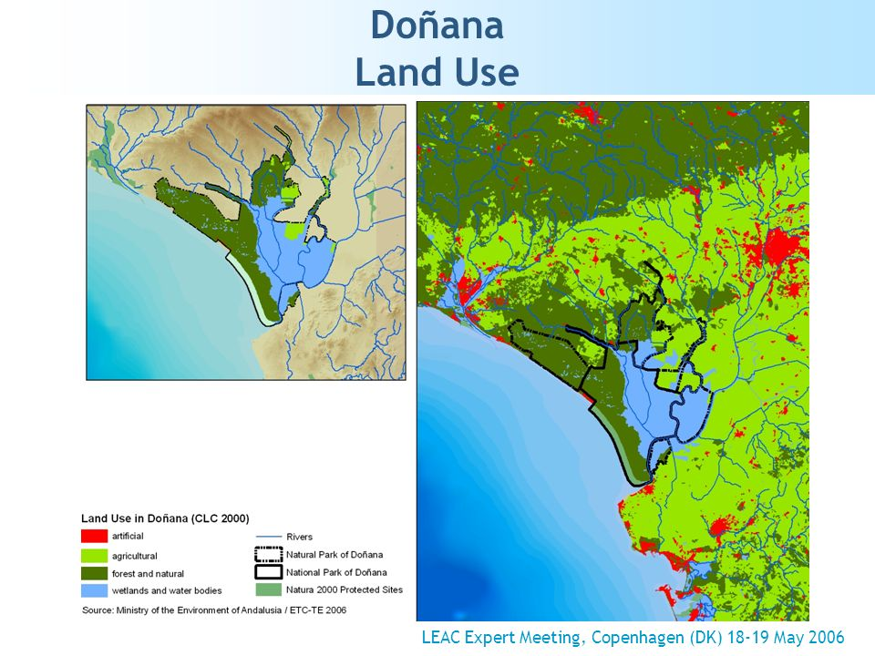 Doñana Land Use LEAC Expert Meeting, Copenhagen (DK) 18-19 May 2006