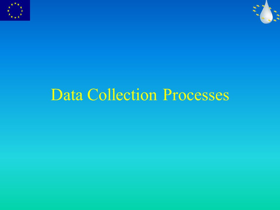 Data Collection Processes