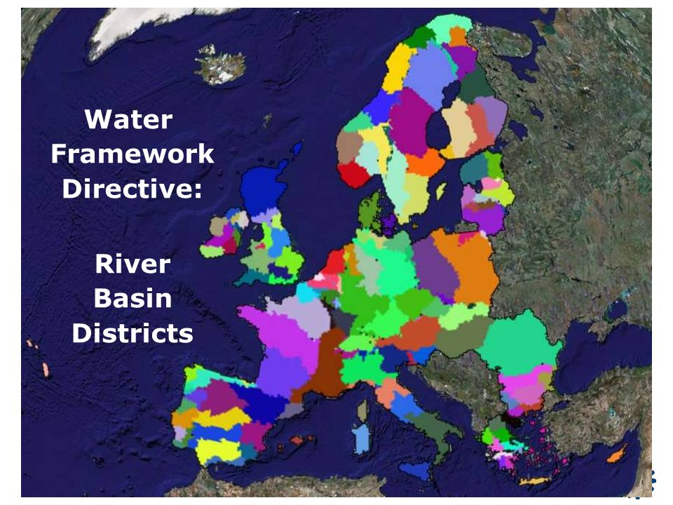 Water Framework Directive: River Basin Districts
