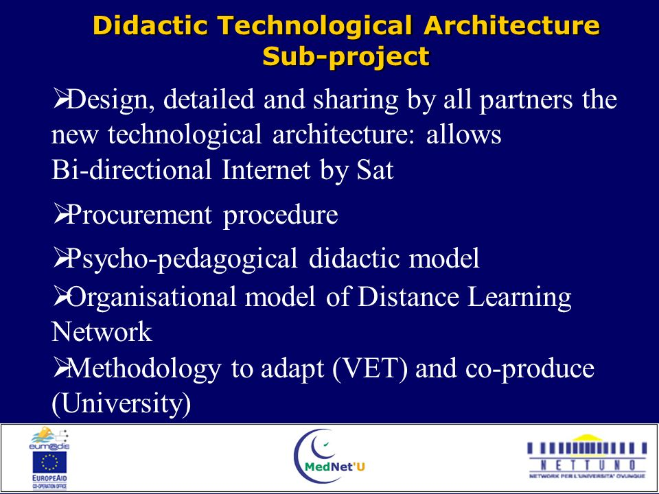 Achieved results and Implementation progress Achieved results and Implementation progress Each Didactic Module in three languages: arabic, english, french