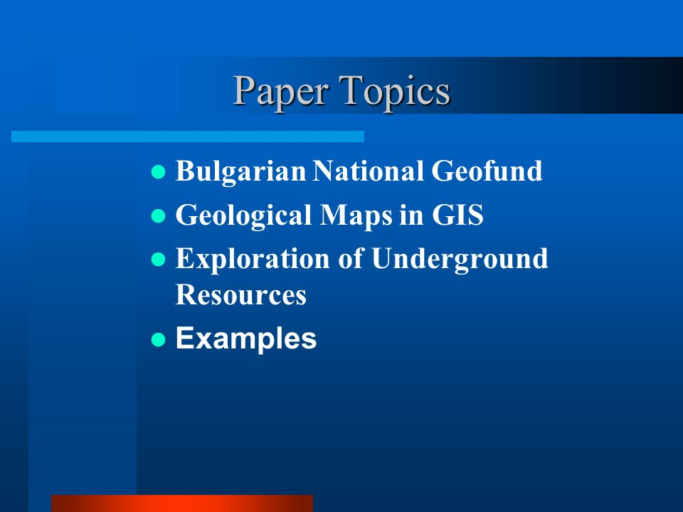 Buy geology research paper topics