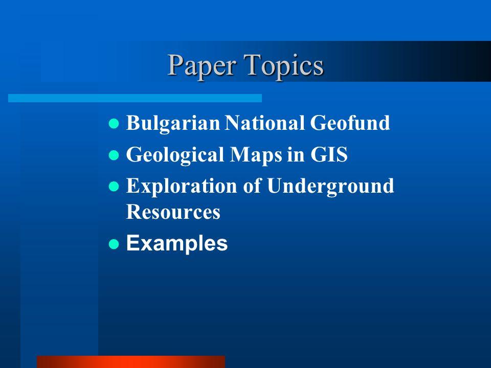 Digital Maps 2.Geological Map of Bulgaria, Scale 1:100000.