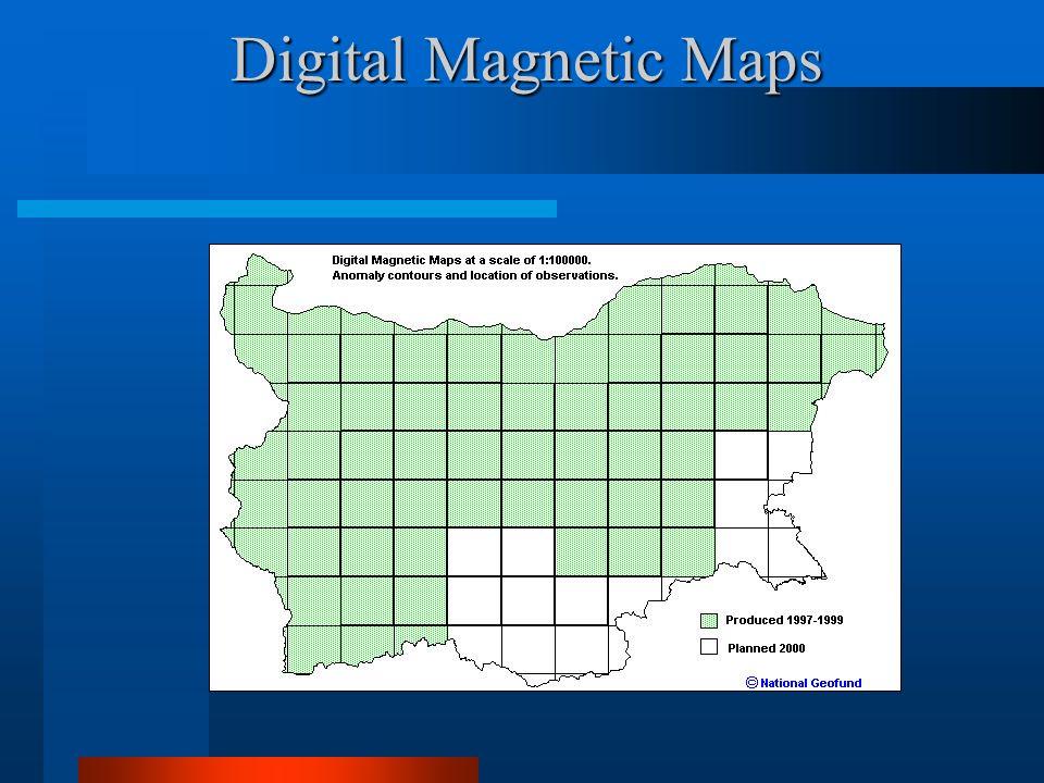 Digital Magnetic Maps