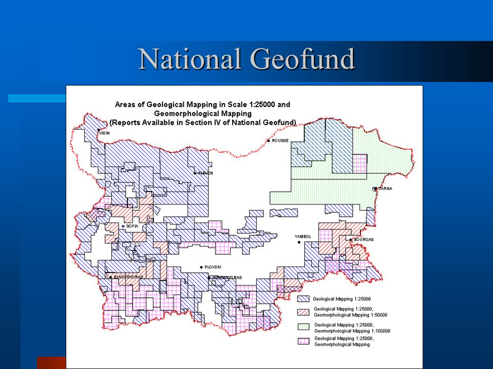 Other Data Sets Specialised Cadastre of Deposits and Register of Discoveries.