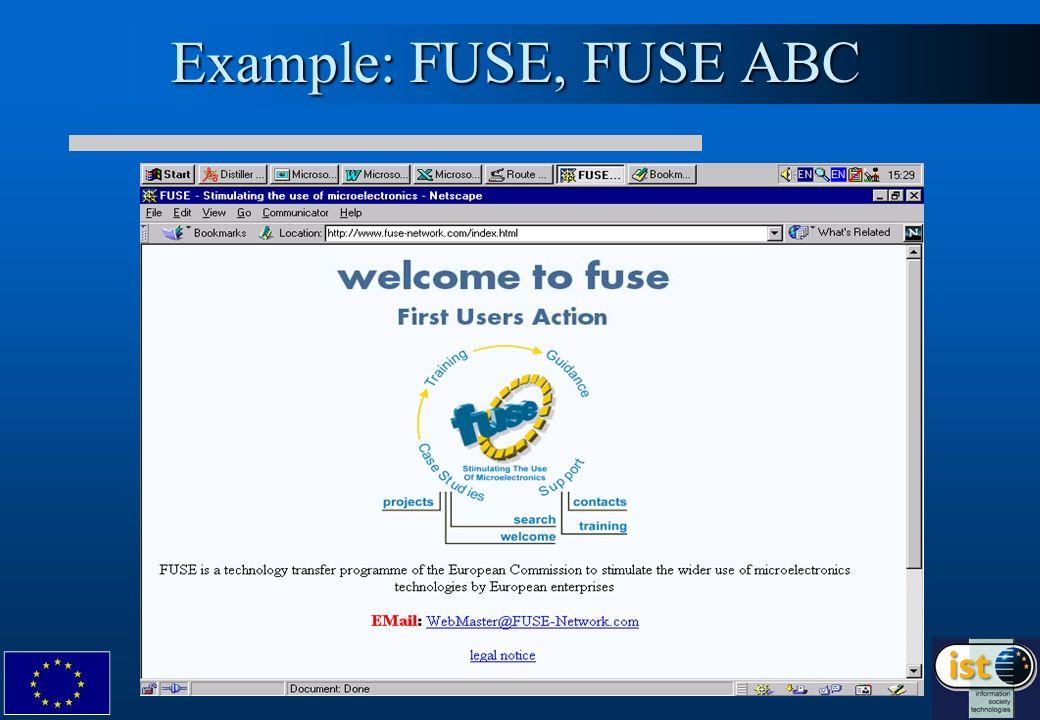 Example: FUSE, FUSE ABC