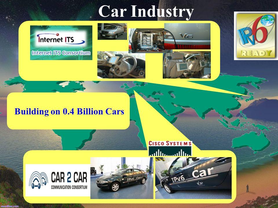 Car Industry Building on 0.4 Billion Cars