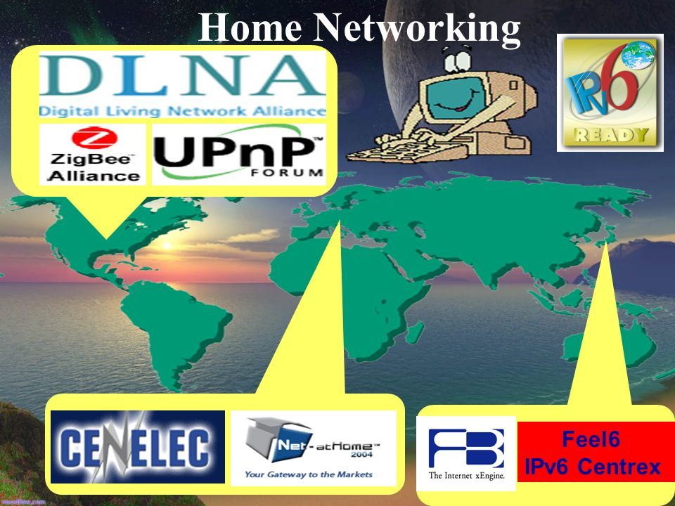 Home Networking Feel6 IPv6 Centrex