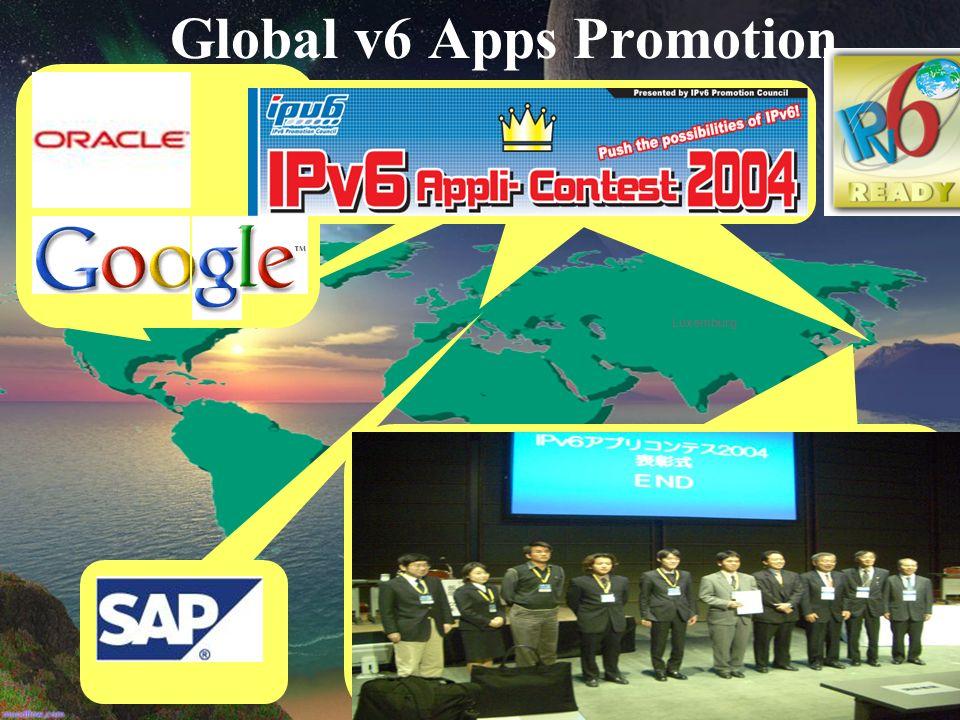 Global v6 Apps Promotion Luxemburg