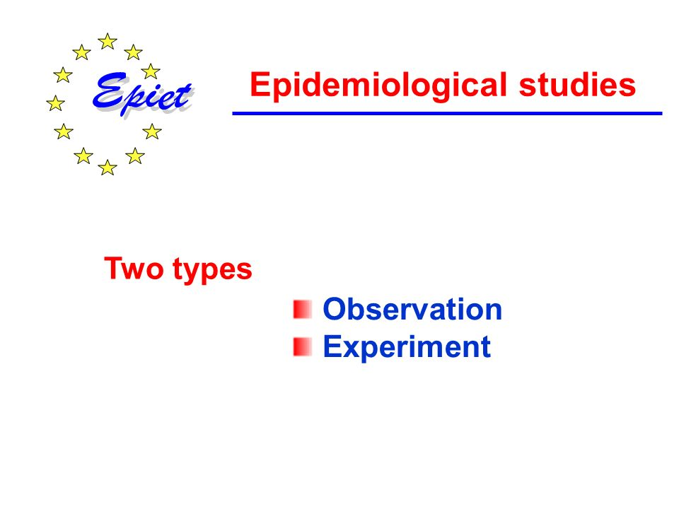 Our objective is to compare the incidence rate in the exposed population to the rate that would have been observed in the same population, at the same time if it had not been exposed