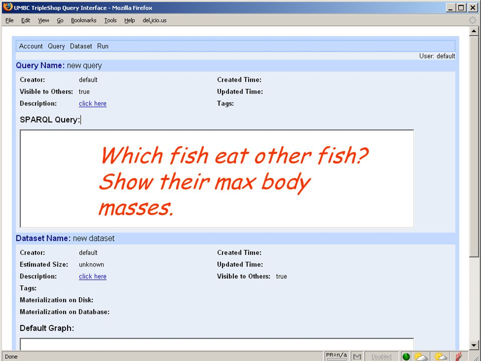 UMBC an Honors University in Maryland Which fish eat other fish? Show their max body masses.