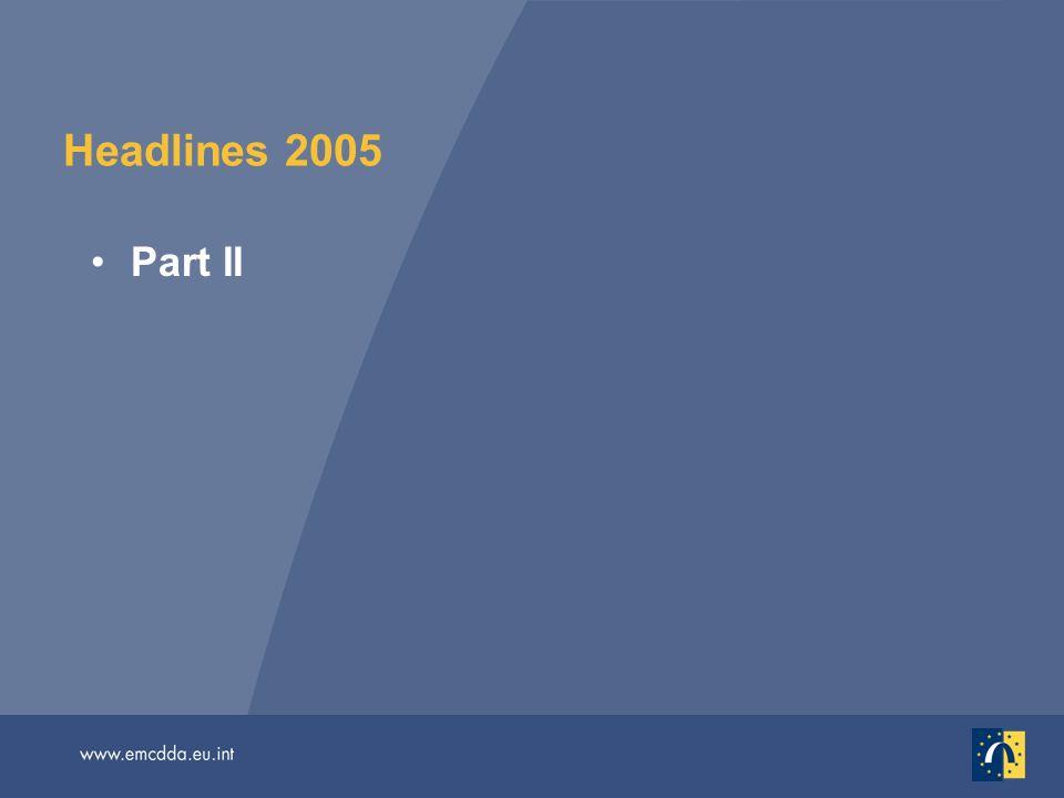 Headlines 2005 Part II