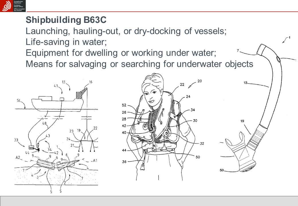 Shipbuilding B63C Launching, hauling-out, or dry-docking of vessels; Life-saving in water; Equipment for dwelling or working under water; Means for sa