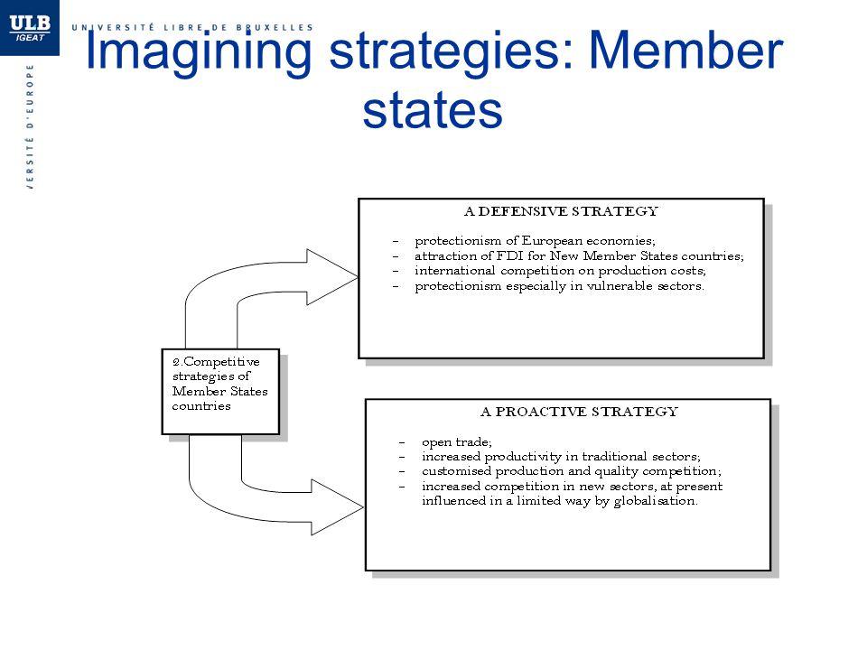 Imagining strategies: Member states