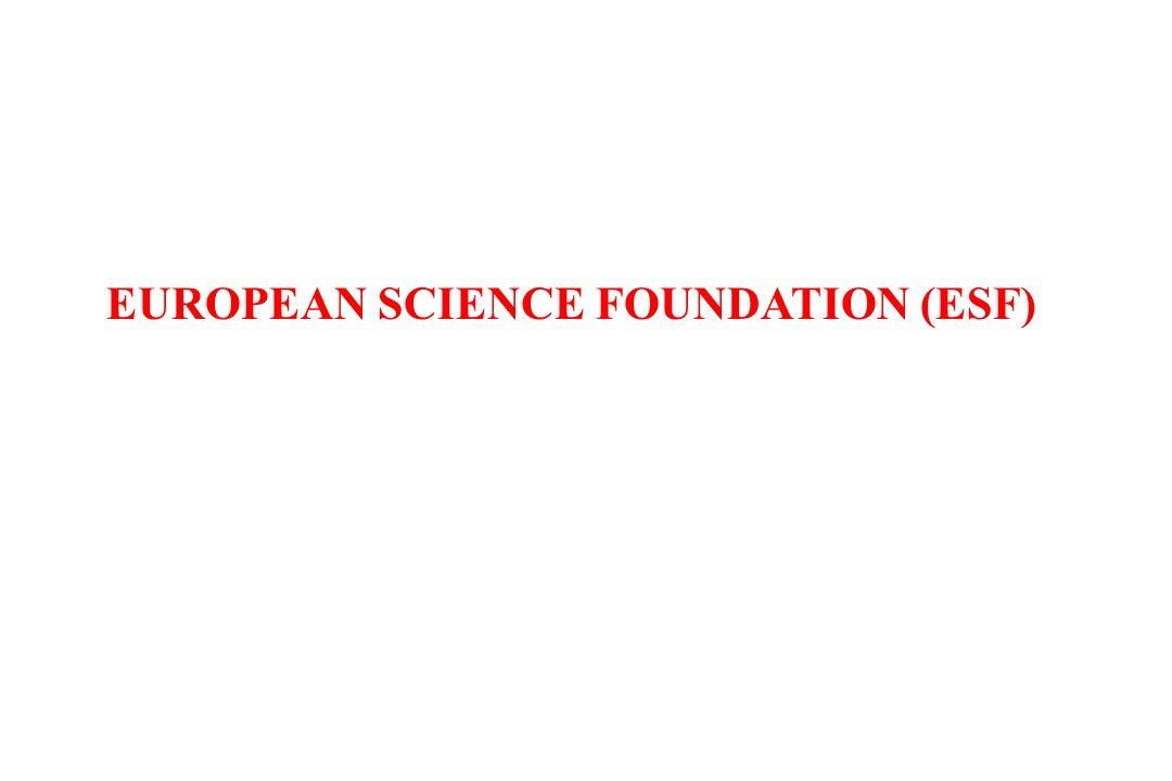 EUROPEAN SCIENCE FOUNDATION (ESF)