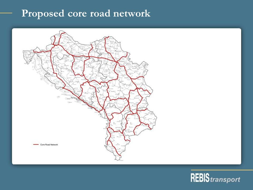 Proposed core road network