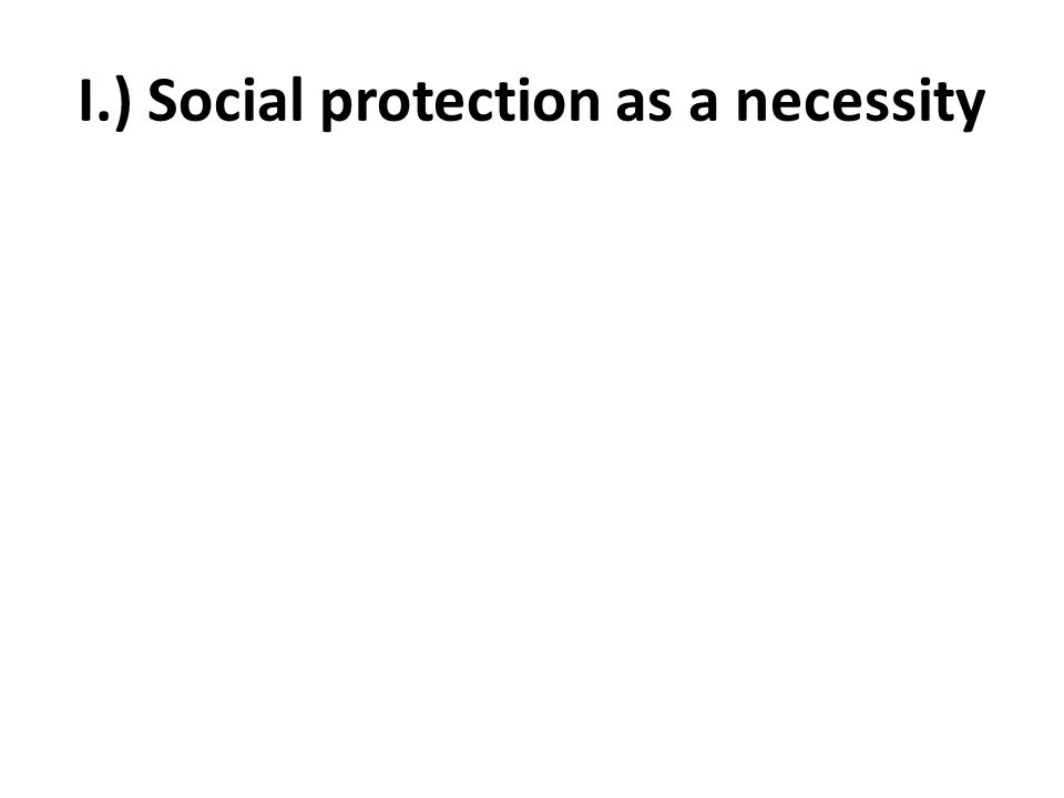 Social protection: ADB a basic human right and a social necessity to combat poverty and inequality.