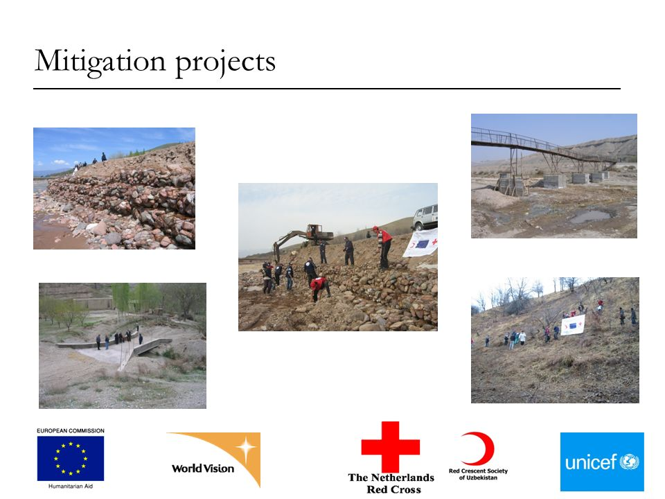 Mitigation projects