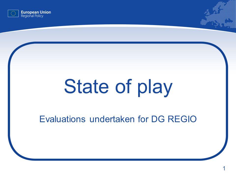 2 Ex post evaluation of ERDF Objective 1 & 2 (2000-2006) Kai Stryczynski, Anna Burylo Evaluation Unit