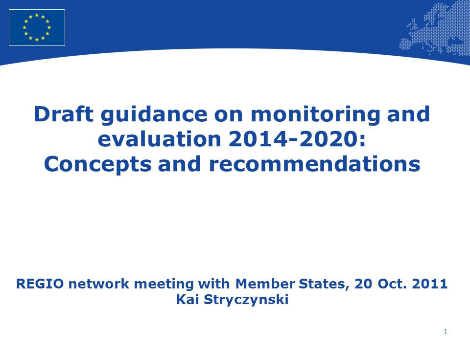 2 European Union Regional Policy – Employment, Social Affairs and Inclusion Findings of April meeting General support from Member States Use and usability missing Definitions of common indicators needed Annex 2 on result indicators not helpful
