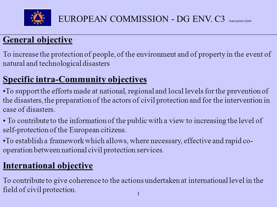 1 EUROPEAN COMMISSION - DG ENV.