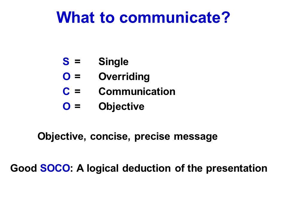 Lets communicate.