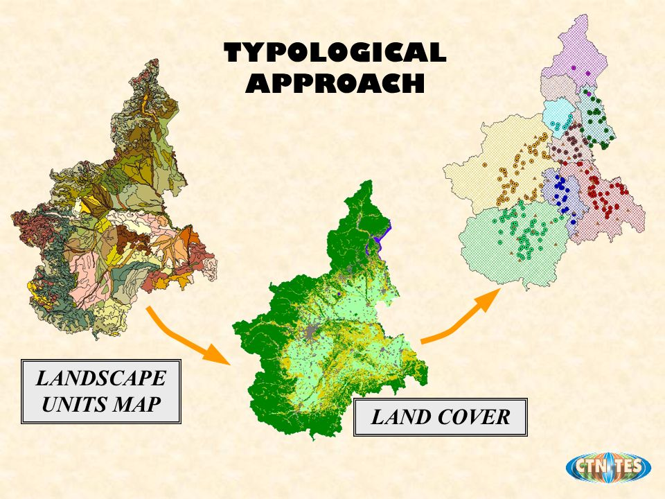 LAND COVER LANDSCAPE UNITS MAP TYPOLOGICAL APPROACH