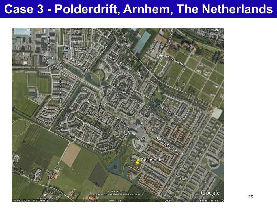 29 Natural Treatment SystemsCase 3 - Polderdrift, Arnhem, The Netherlands