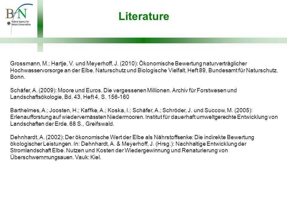 Literature Grossmann, M.; Hartje, V. und Meyerhoff, J.