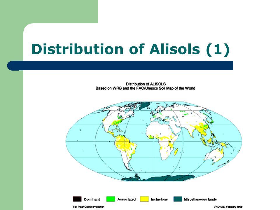 Distribution of Alisols (1)