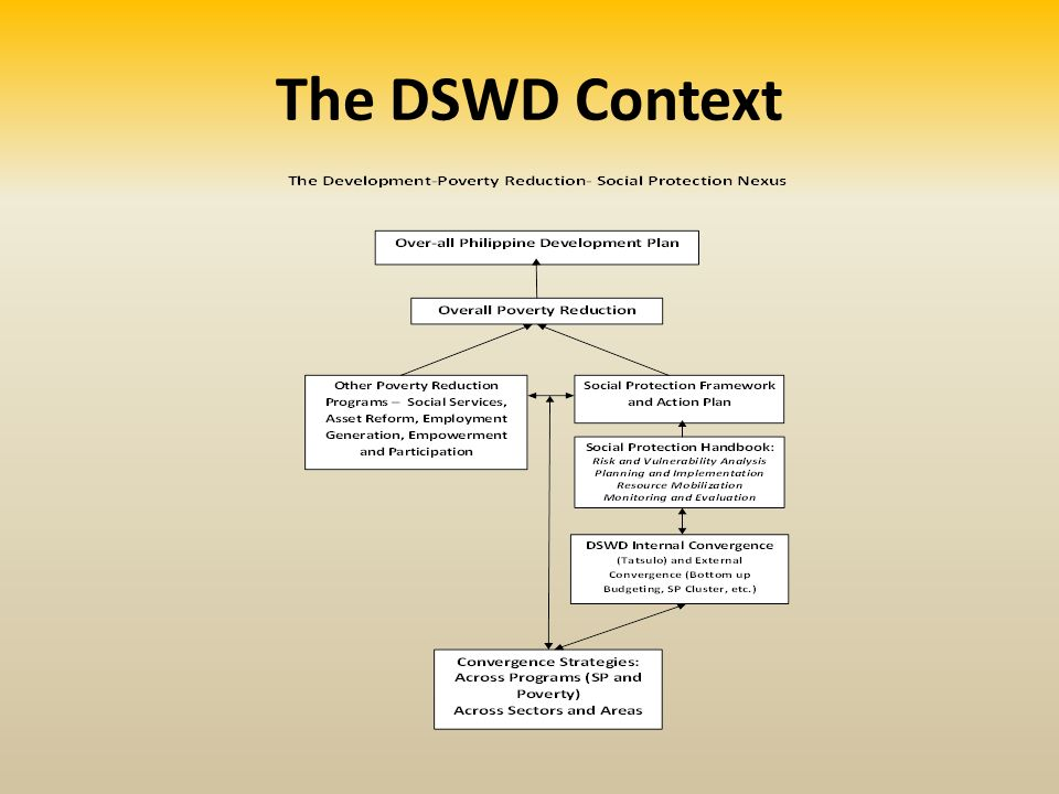 The DSWD Context