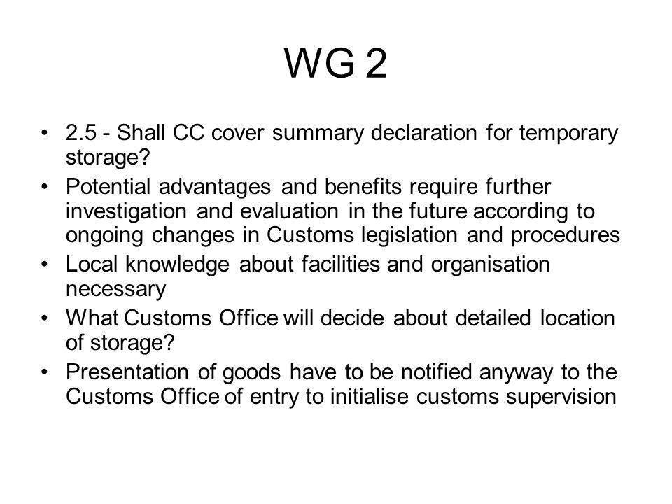 WG 2 2.6 - How is entry in the records (access to trader systems) supposed to work when more than one Member State is concerned.
