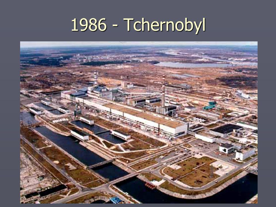 1986 - Tchernobyl