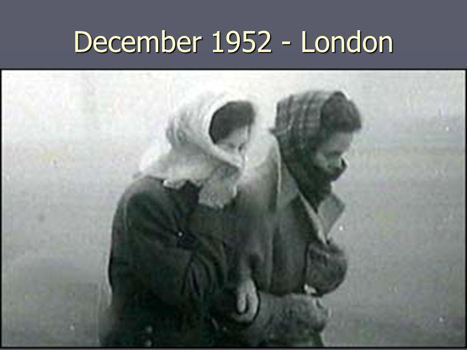 December 1952 - London