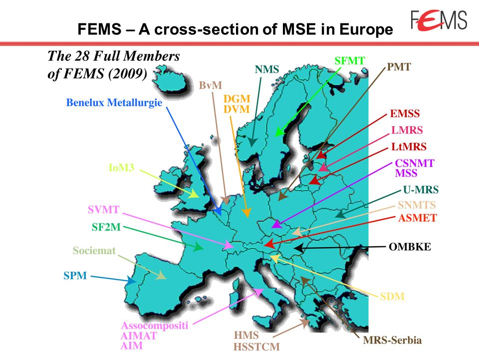 FEMS – A cross-section of MSE in Europe
