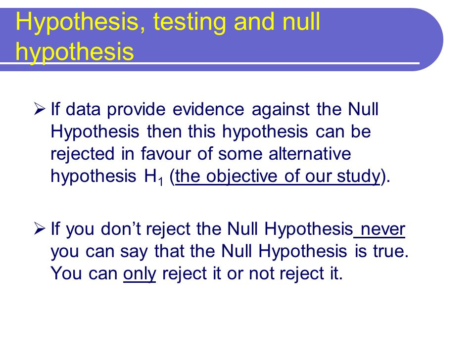 p = probability that a result (for example a difference between proportions or a RR) or more extreme values can be observed by chance alone Significance testing: H 0 rejected using reported p value Small p values = low degree of compatibility between H 0 and the observed data: you reject H 0 and the test is significant.