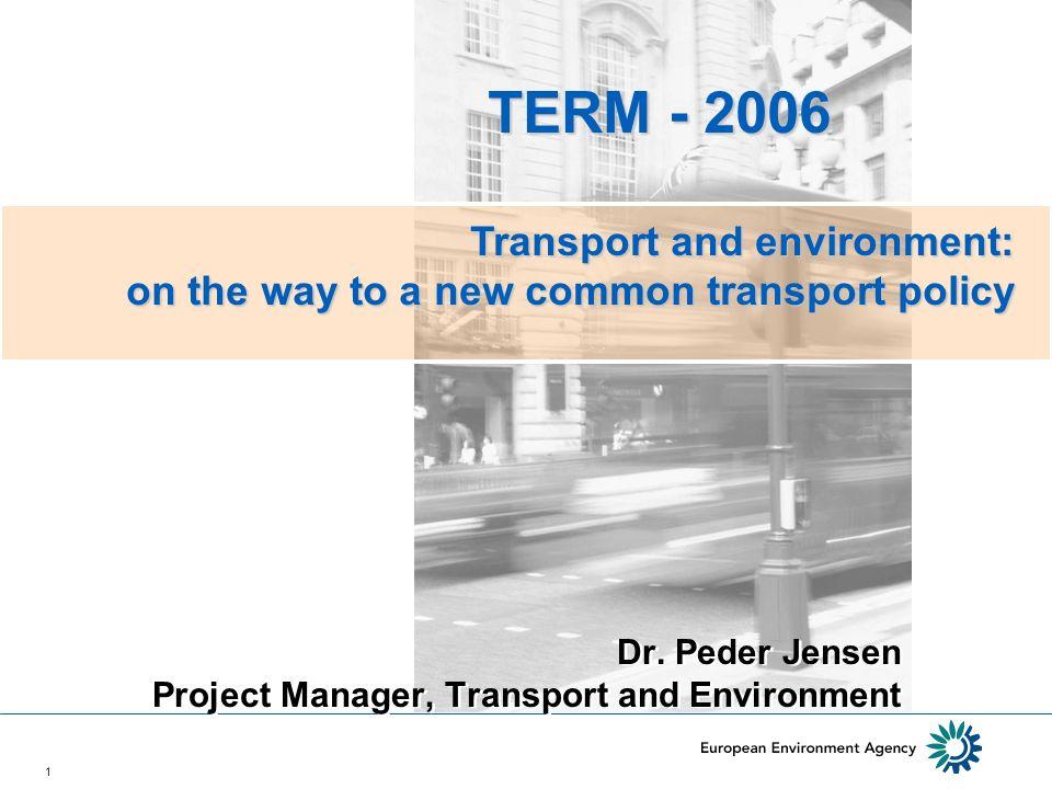 12 TERM traffic noise indicator 2000/2001