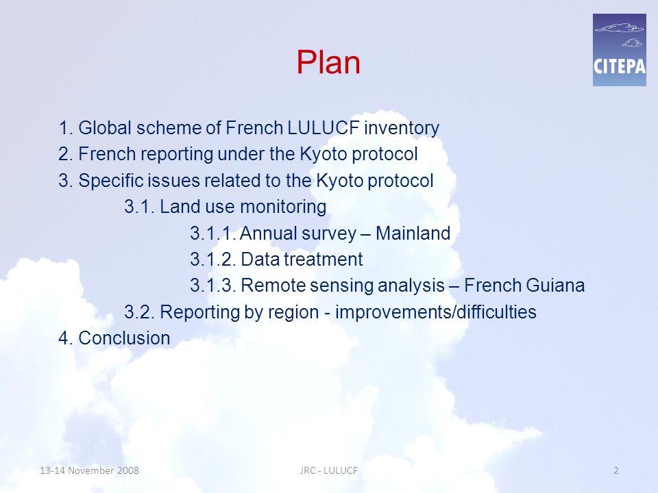 13-14 November 2008JRC - LULUCF23 3.1.3.