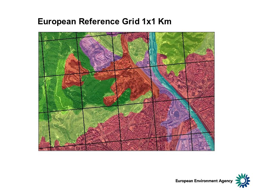 European Reference Grid 1x1 Km