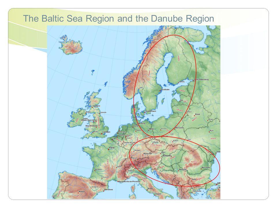 The Baltic Sea Region and the Danube Region