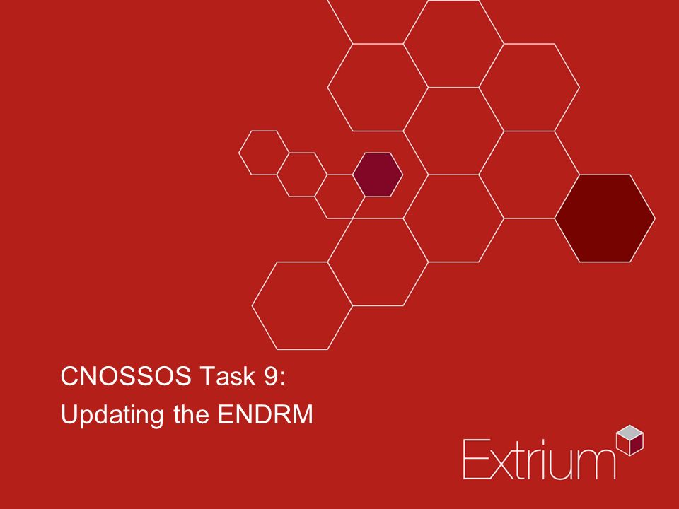 CNOSSOS Task 9: Updating the ENDRM