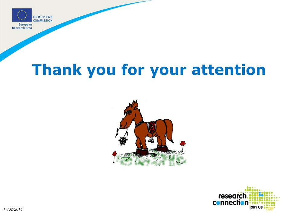 19 Thank you for your attention 17/02/2014
