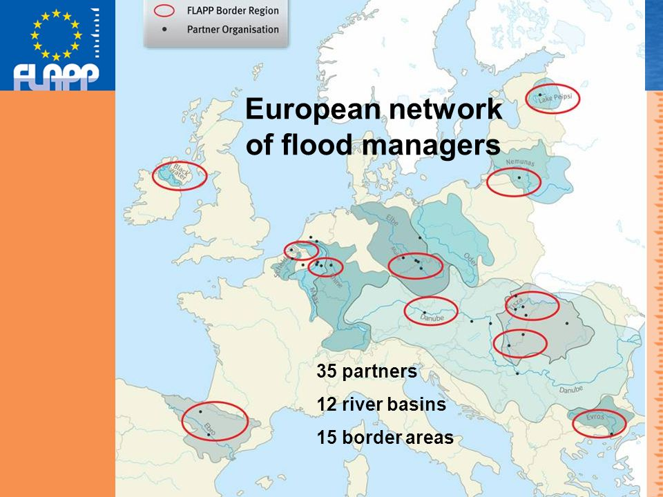 Collecting good practices Database with over 50 flood management examples