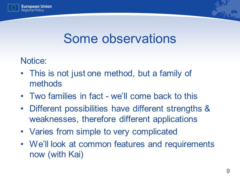 10 What do we need? Kai Stryczynski Evaluation Unit DG REGIO