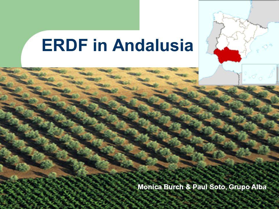 ERDF in Andalusia Monica Burch, Grupo Alba Monica Burch & Paul Soto, Grupo Alba