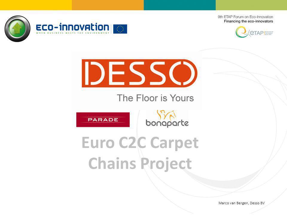 Euro C2C Carpet Chains Project Marco van Bergen, Desso BV