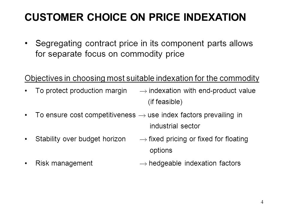 3 CUSTOMER CHOICE ON CONTRACT DURATION What determines the industrial customers choice in contract duration.