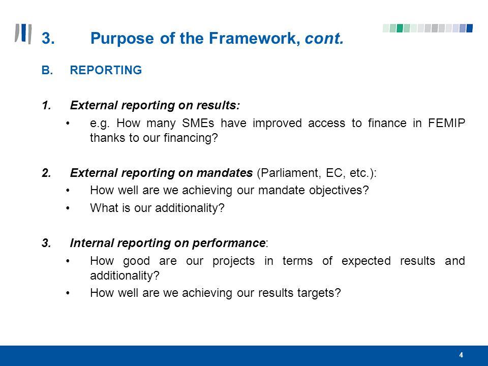 5 4. REM Conceptual Framework Additionality