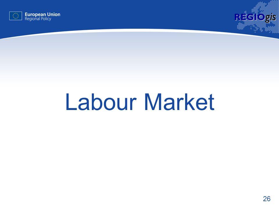 26 REGIO gis Labour Market